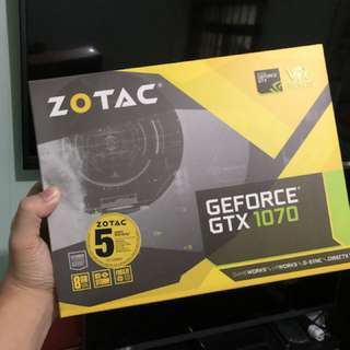 ZOTAC TWIN FAN GTX 1070 8GB | 30-31MH/s