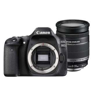 Canon EOS80D 18-200mm