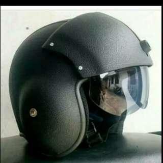 Helmet retro pilot oscar