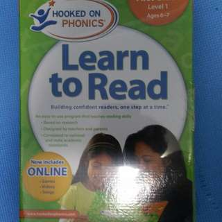 Hooked on phonics - Grade level 1