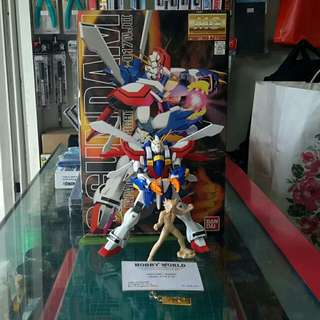 """MG G Gundam """"Built Model"""""""