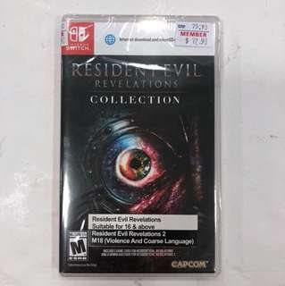 Nintendo Switch Brandnew Resident Evil
