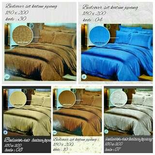 bedcover set katun jepang
