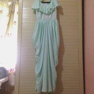 Long Dress Mint Formal