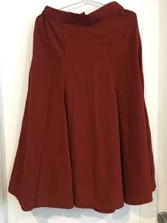 Rok maxi skirt