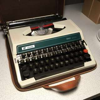 新淨 Clover 打字機 Typewriter