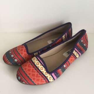 Tribal Flat Shoes
