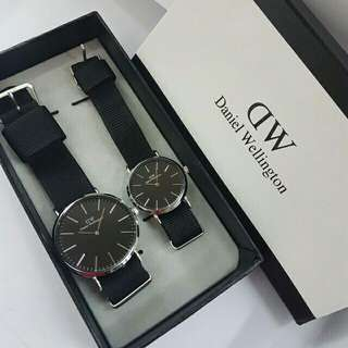 Daniel Wellington Couple Watch Nato Leather