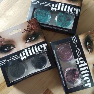 BYS Body & Face Glitter Php950 take all