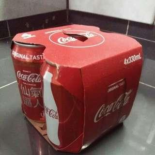 可口可樂-4罐裝