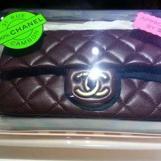 Chanel 20cm 酒紅色特別版,,全新