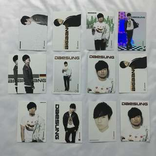 BIG BANG COLLCETION CARD (DEAESUNG)