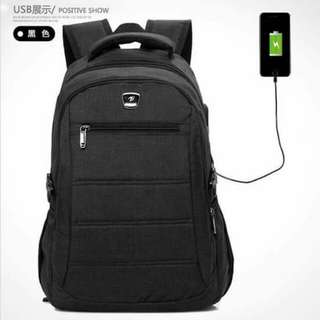 Bag Pack with USB