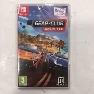 Nintendo Switch Brandnew Gear Club Unlimited