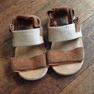 Zara sandals size 22