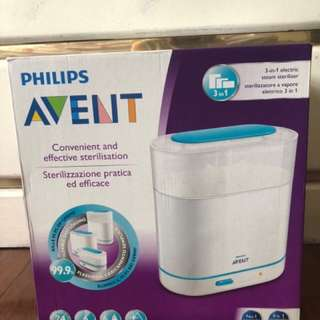 Brand new Avent bottle sterilizer