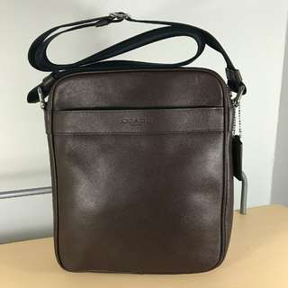 Coach Flight Bag Mahogany