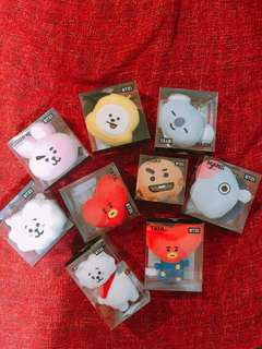 INSTOCK BTS BT21 Head Keyrings