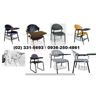 ( factory price ) school chair*with tablet-office partition