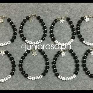 Personalized bracelet souvenirs