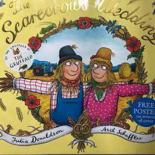 The Scarecrows wedding hardback