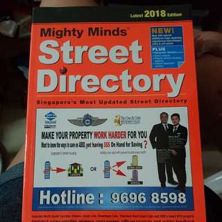 Mighty minds street directory brand new