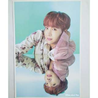BTS Japan Wings Tour Poster Set - J-Hope