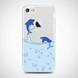Dolphin Clear Case