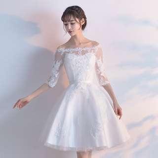 Wedding Bridal Dress  (abv knee)