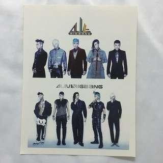 Big Bang 貼紙