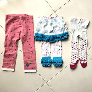 Leggings :: sizes to suit from baby to toddler
