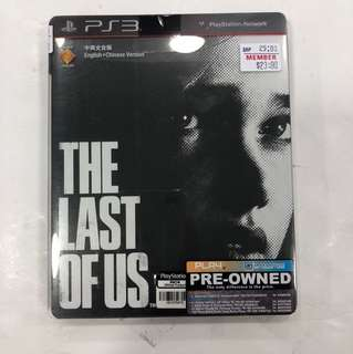PS3 Preowned The Last Of Us