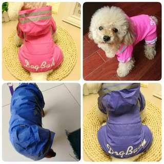 小型犬雨衣可作風褸