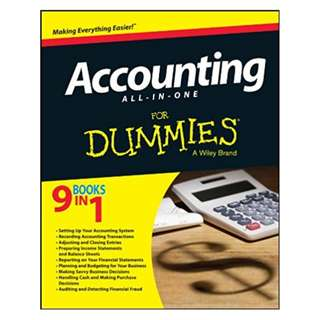 Accounting All-in-One For Dummies (For Dummies Series) 1st Edition, Kindle Edition by Consumer Dummies (Author)