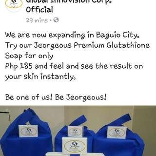 Jeorgeous Premium Glutathione Soap