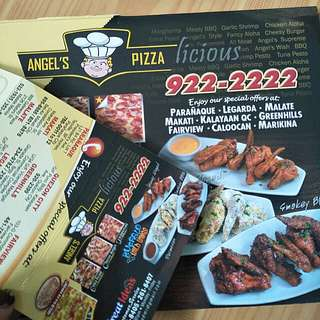 Discounted Card Angel's Pizza