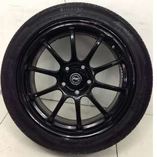 17 '' Sport Rim With Tyre 5x114.3 (SR941)