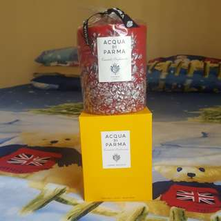 Acqua di parma silver gens candle.limited edition(900 g)