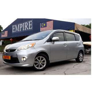 PERODUA ALZA 1.5 ( A ) EZI !! NEW FACELIFT PREMIUM HIGH SPECS !! 7 SEATER MPV !! ( WXX 1082 ) 1 CAREFUL OWNER !!