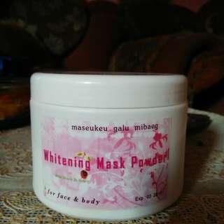 whitening mask powder /wmp/masker bubuk korea /masker korea