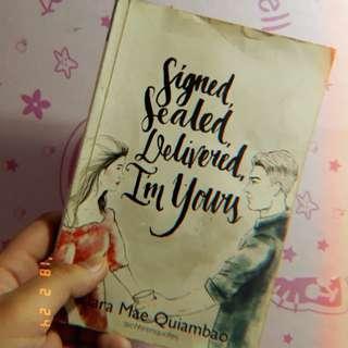 Signed,Sealed,Delivered,Im Yours/read description