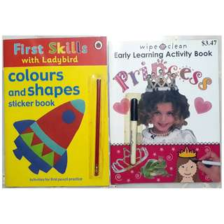 Early Learning Activity Book, Colours & Shapes