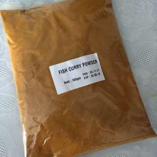 Fish curry powder.