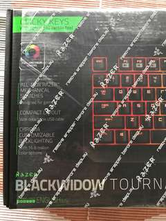 Razer Blackwidow Tournament Edition Chroma BNIB