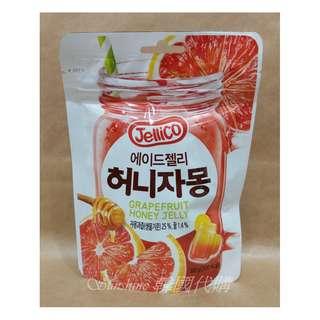 🚚 預購 韓國 Jellico 蜂蜜葡萄柚 軟糖 80g