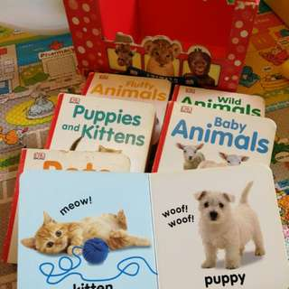 Animals 6 chunky board book