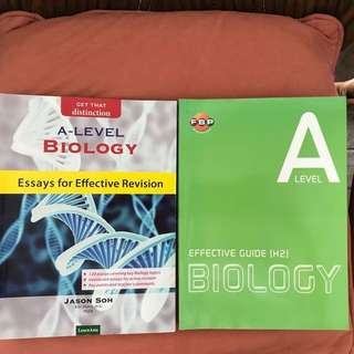 A Level Biology Guide Books