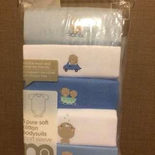 Brand new Mothercare 5-piece romper set