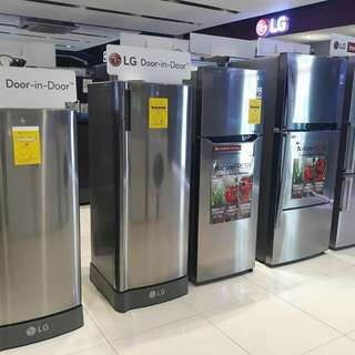 Brandnew LG Inverter Refrigerator 2dr No-Frost and Side by Side