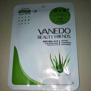 Vanedo Aloe Vera Face Mask